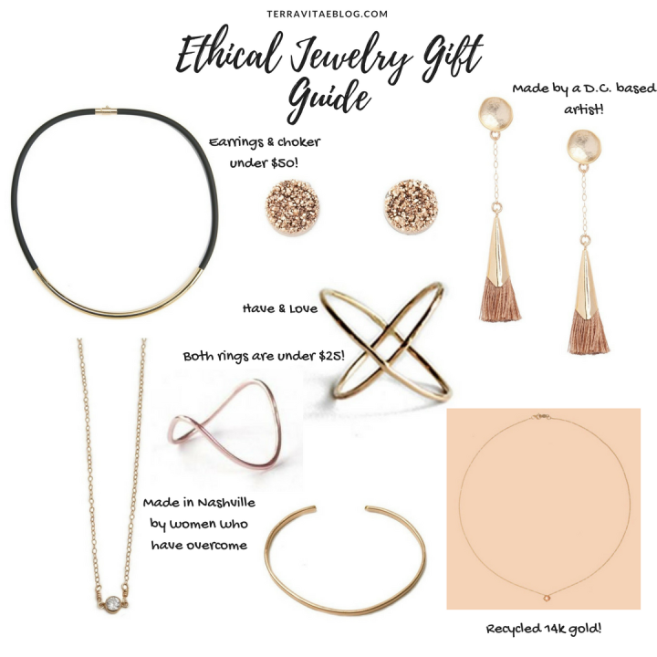 Ethical Jewelry Holiday Gift Guide2017