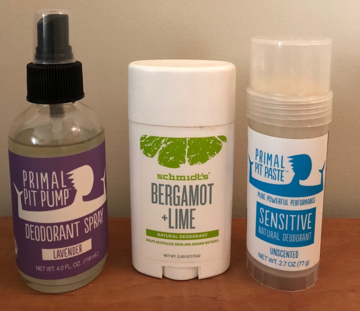4 Steps to Transition to a Natural Deodorant