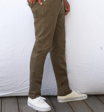 Outerknown organic cotton jeans